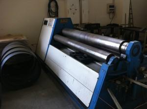 Ginsberg Metall-4-Walzen-Rundbiegemaschine